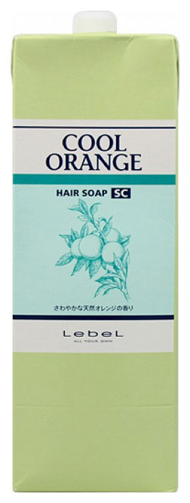 Купить Шампунь Lebel Cool Orange Hair Soap Super Cool 1, 6 л