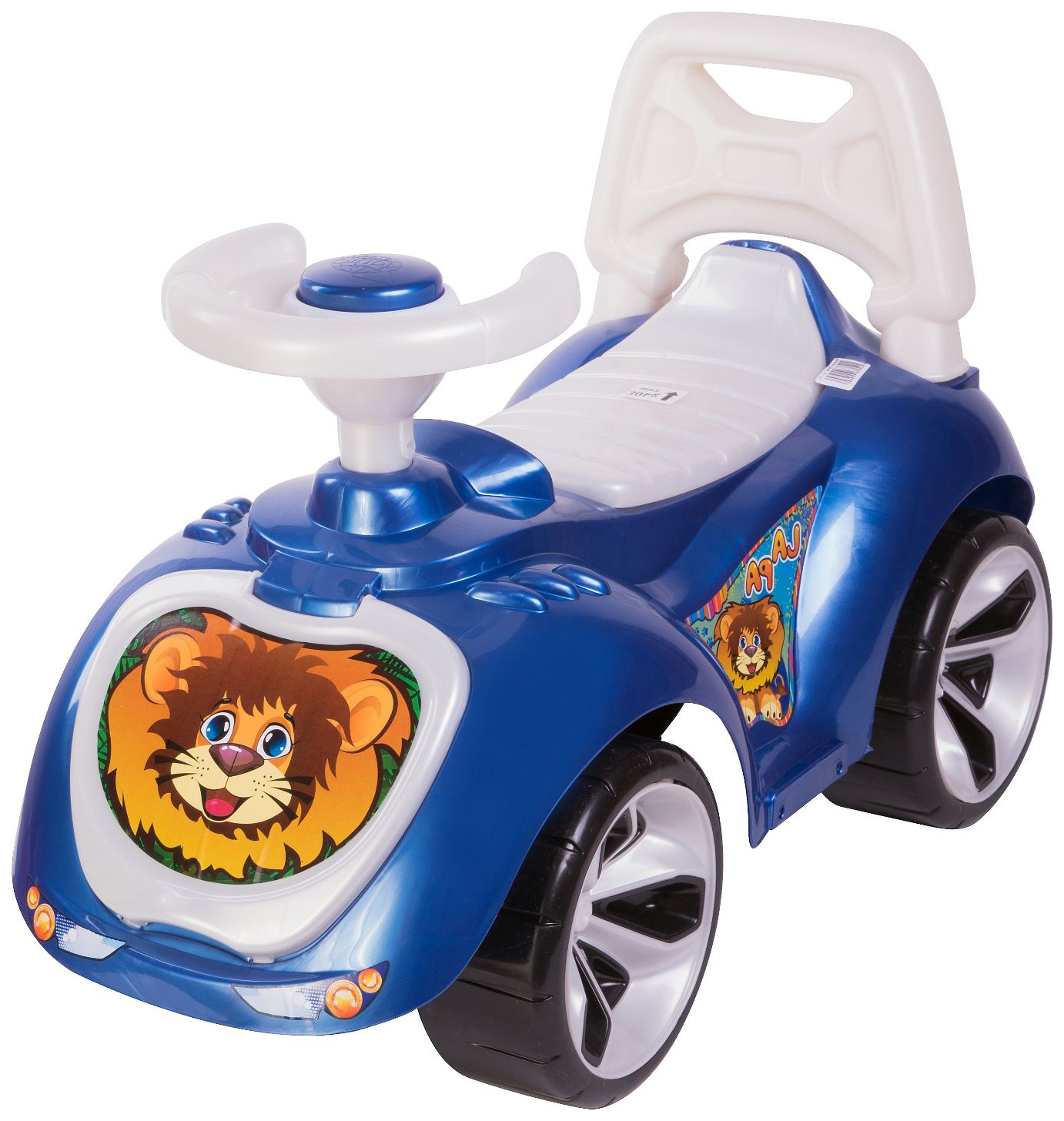 Купить Каталка детская Orion toys Машина PAW ультрамарин, Машинки каталки