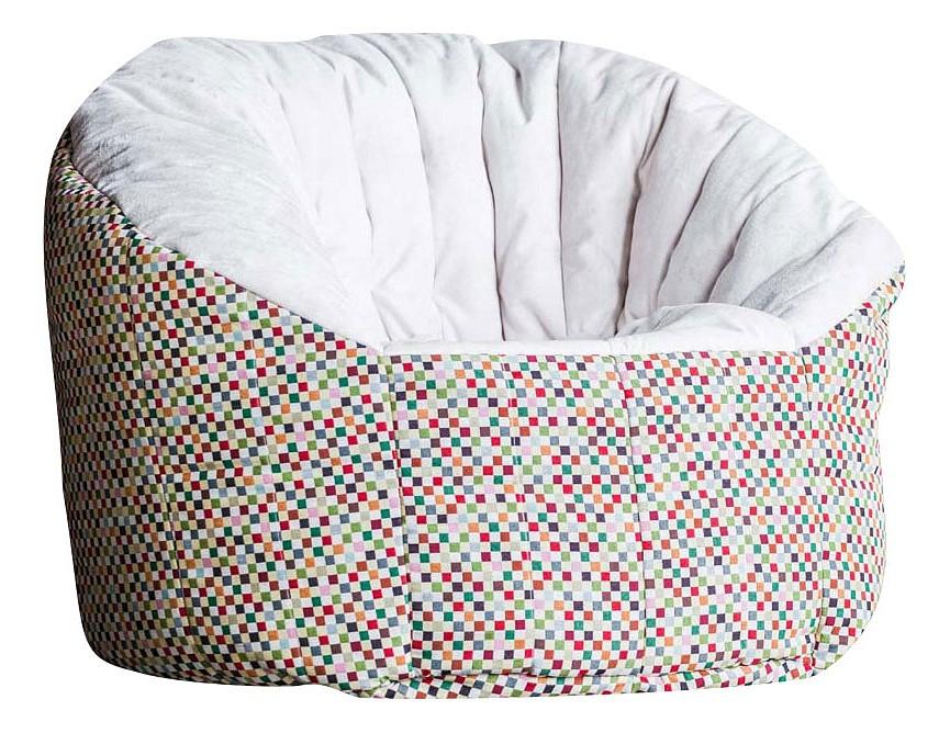 Кресло-мешок DreamBag Пенек Австралия Топ, размер XL, жаккард, светло-бежевый с рисунком фото