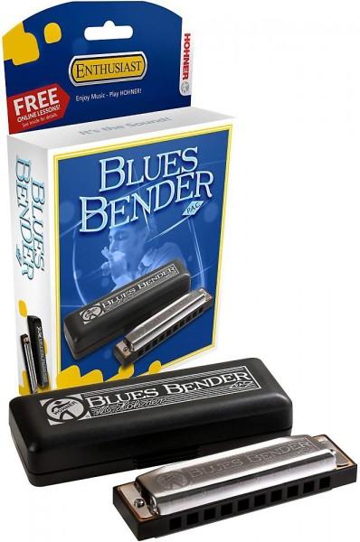 Губная гармоника диатоническая HOHNER Blues Bender F фото