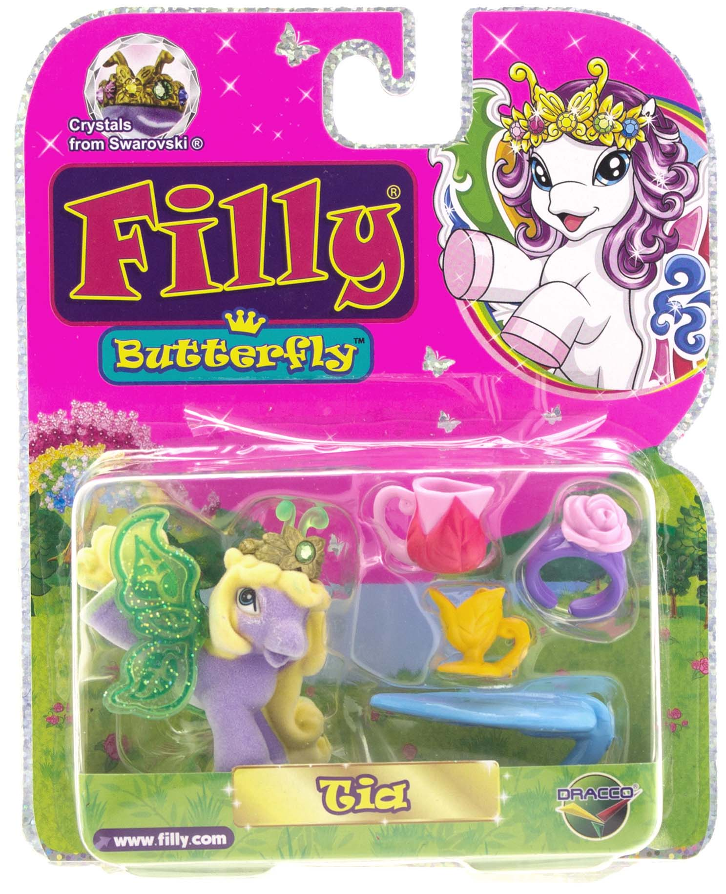 Игровой набор Filly Бабочки с блестками в блистере