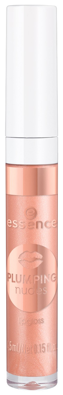 Купить Блеск для губ essence Plumping Nudes Lipgloss 01 xxl charm 4, 5 мл