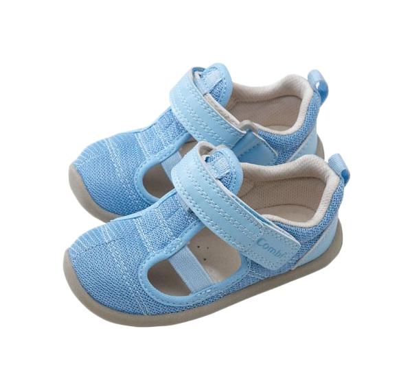 Туфли детские Combi, цв. голубой р.24 фото