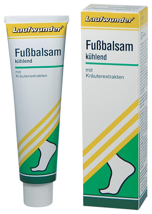 Бальзам для ног охлаждающий Laufwunder с экстрактами трав