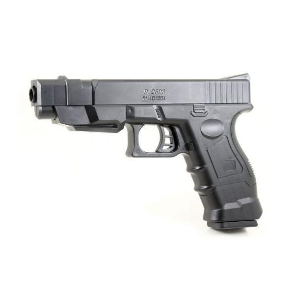 НАША ИГРУШКА Пистолет механический ES451 P2698PB