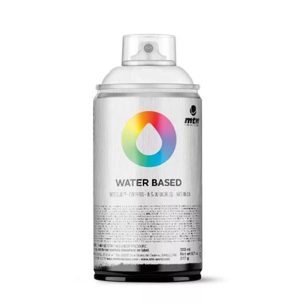 Аэрозольная краска Mtn Water Based полупрозрачный белый 300 мл фото