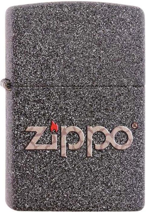 Зажигалка Zippo №211 Snakeskin Zippo Logo Iron Stone фото