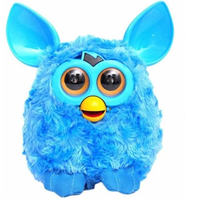 Интерактивная игрушка JD Toys Ферби Furby по кличке Пикси 16 см бирюзовый