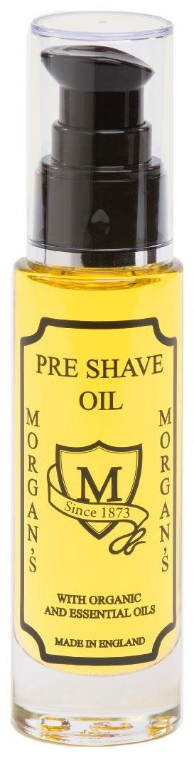 Масло для бритья Morgan's Pre Shave Organic