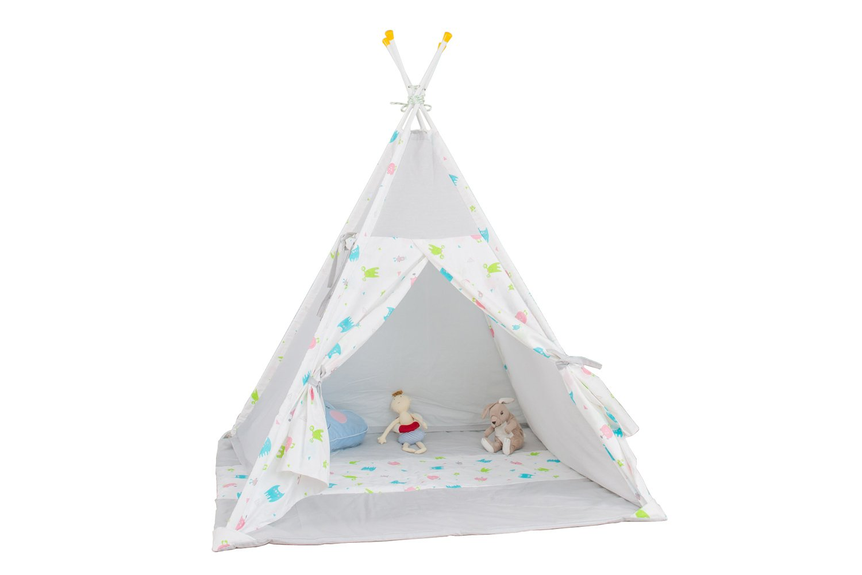 Игровая палатка Polini Монстрики, серый