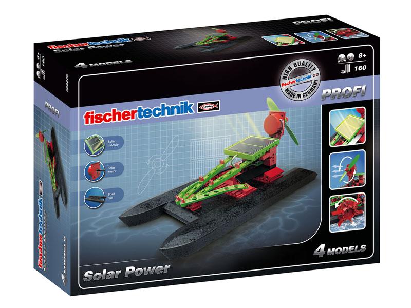 Конструктор Fischertechnik PROFI Solar Power/Солнечные машины, Конструкторы пластмассовые  - купить со скидкой