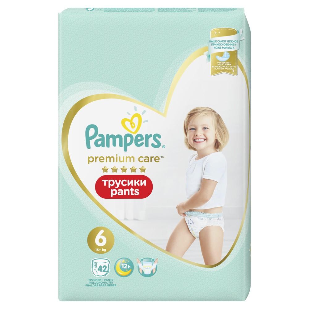 Трусики Pampers Premium Care 15+ кг, размер