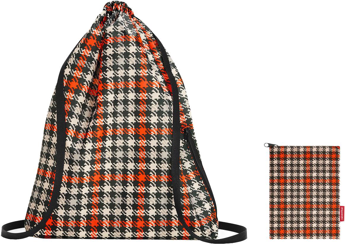 Рюкзак Mini Maxi Sacpack Glencheck Red 25 л фото