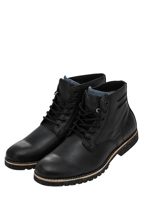 Ботинки мужские черные AFFEX 128-SOH-BLK-M