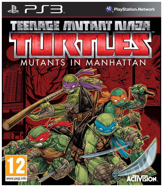 Игра Teenage Mutant Ninja Turtles Mutants in Manhattan для PlayStation 3 фото