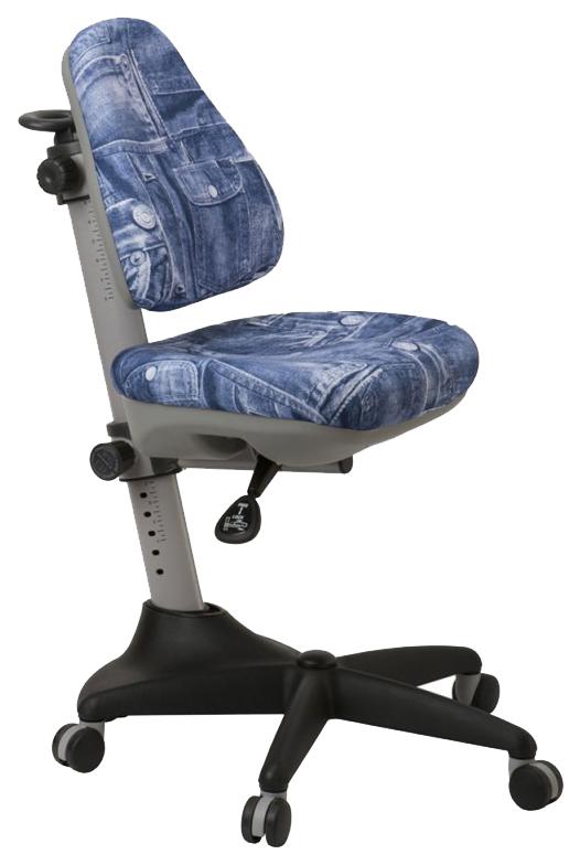 Купить Кресло компьютерное Бюрократ KD-2/G/50-31 синий джинса 50-31, Детские стульчики