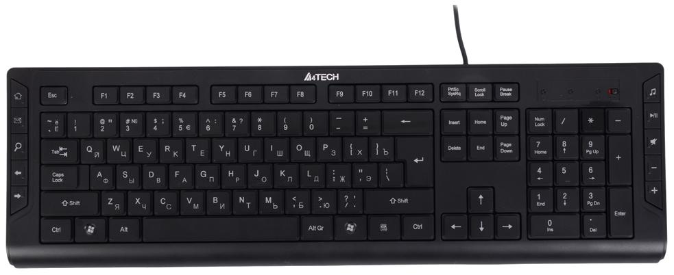 Клавиатура проводная A4TECH KD-600