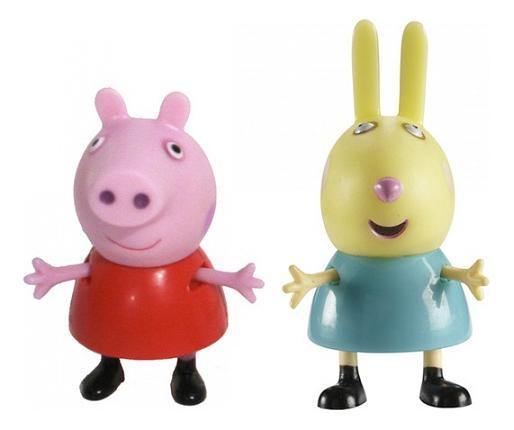 Купить Фигурки Peppa Pig 28815 Свинка Пеппа и Ребекка, Игровые наборы