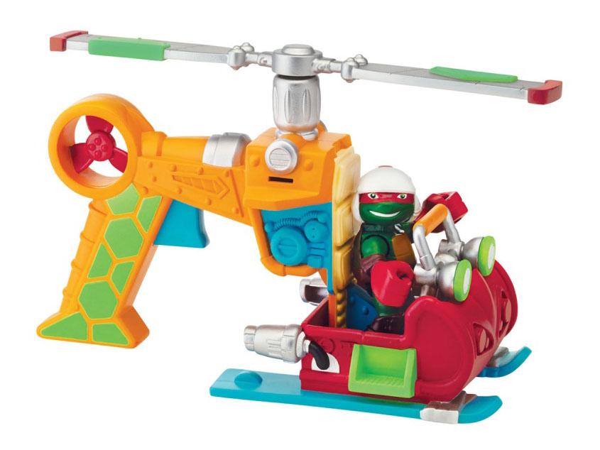 Купить Раф с вертолетом, Фигурка черепашки-ниндзя раф с вертолетом, серия half shell hero, Черепашки-Ниндзя, Фигурки животных
