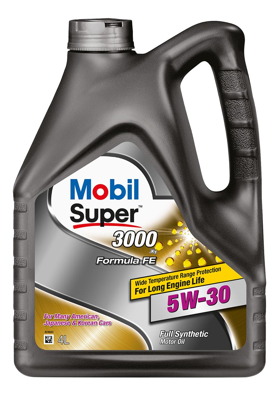 MOBIL SUPER 3000 X1 FORMULA FE