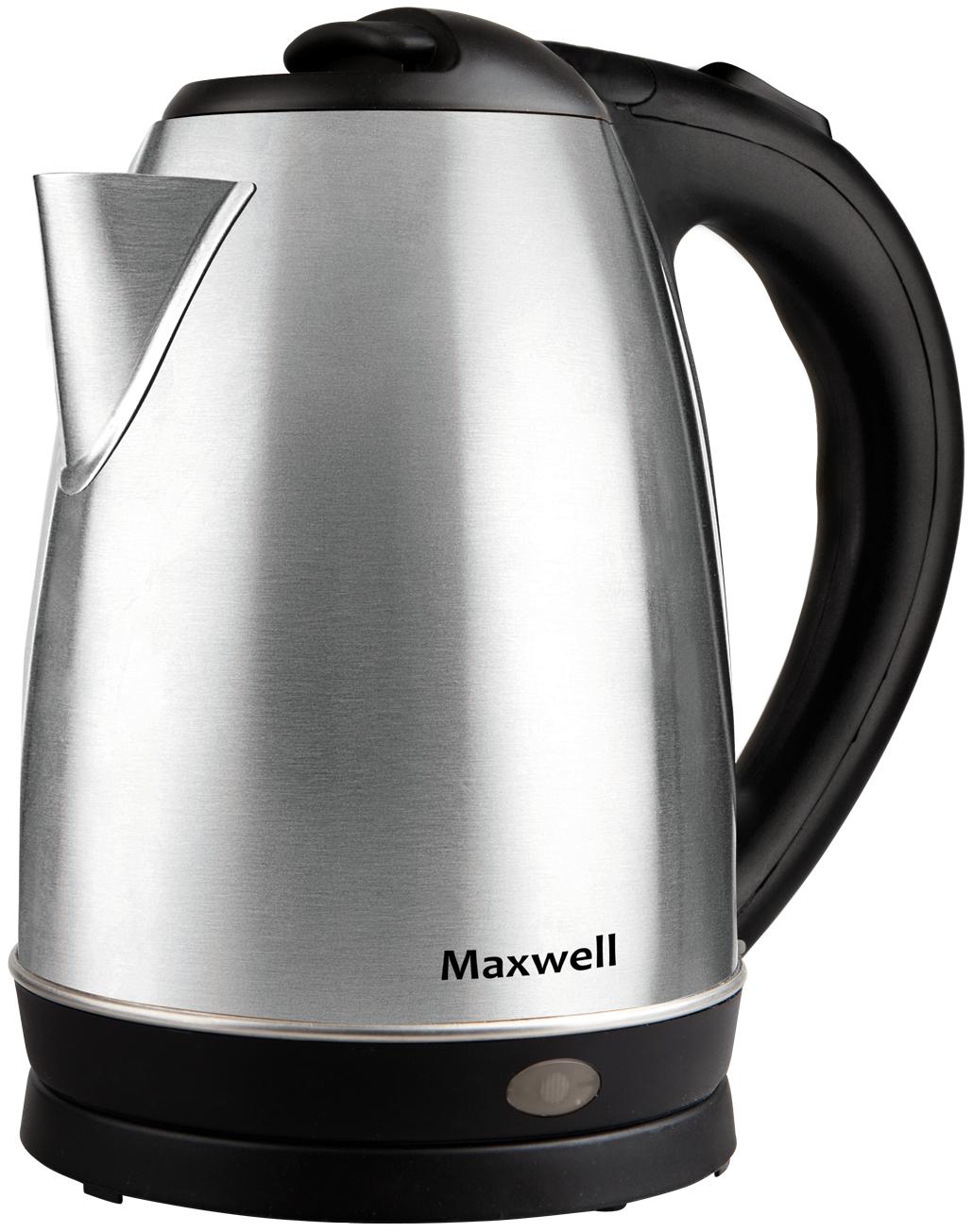 Чайник электрический Maxwell MW 1055 Black/Silver