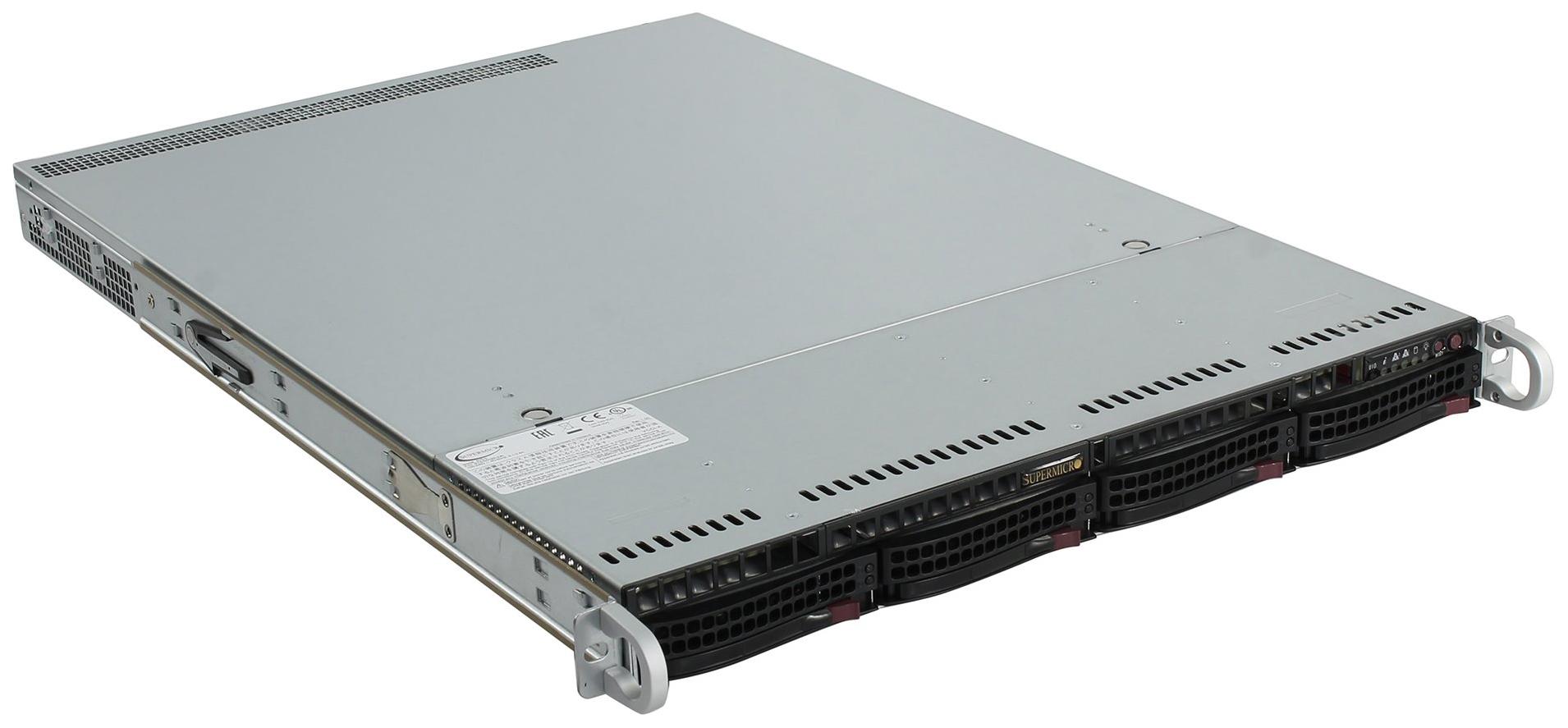 Серверная платформа Supermicro SYS 5019S WR