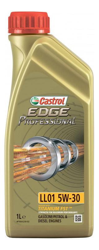 Моторное масло Castrol Edge Professional  LL01 SAE 5W-30 1л