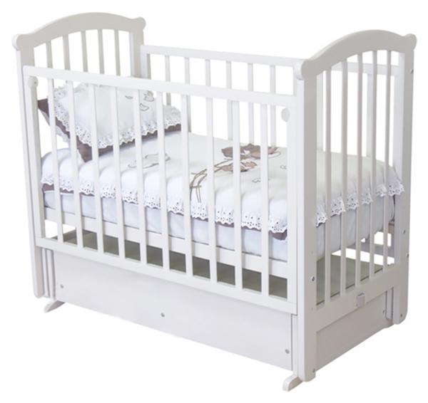 Кроватка Можга Ирина белый (С-625 Э ЗН)