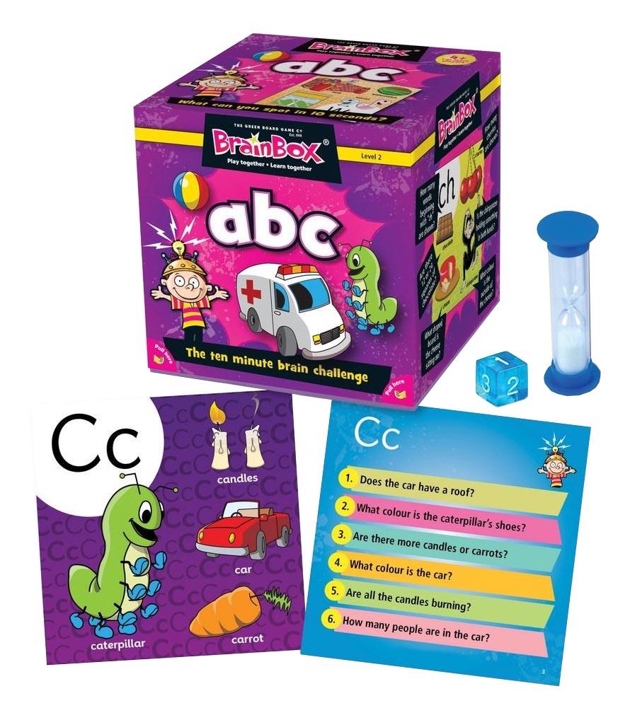 Семейная настольная игра Brain Box Сундучок знаний Авс.