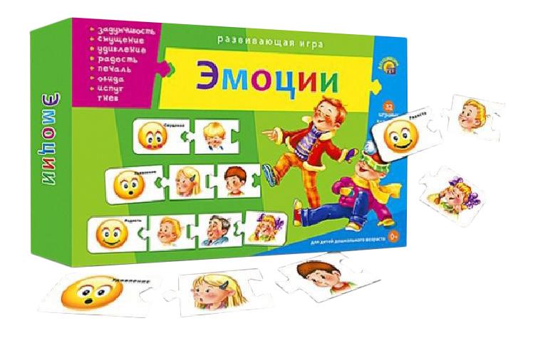 Купить Семейная настольная игра Рыжий Кот Эмоции, Рыжий кот, Семейные настольные игры