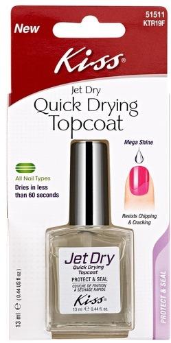 Купить Средство для быстрой сушки лака KISS Quick Drying Topcoat, 13 мл
