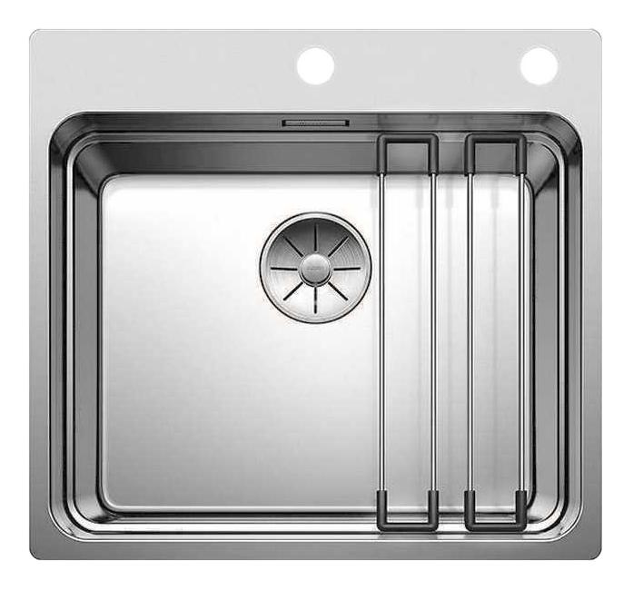Мойка для кухни из нержавеющей стали Blanco Etagon 500 - IF/A 521748 серебристый фото