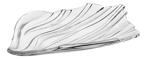 JIN YU - Набор тарелок 2 шт, 19 см хрустальное стекло (set of 2 plate) фото