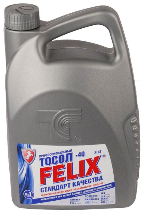 Антифриз Felix синий готовый антифриз 3л