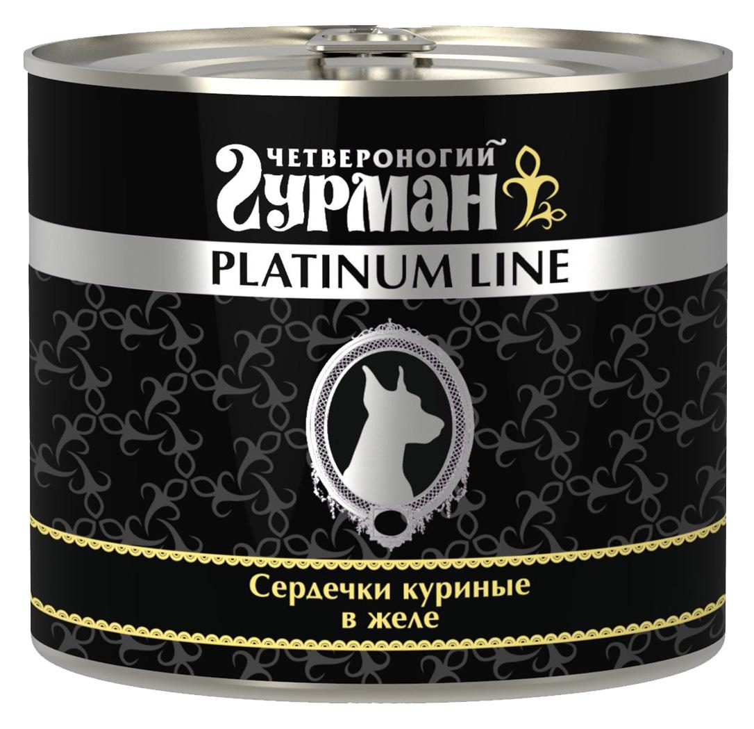 ЧЕТВЕРОНОГИЙ ГУРМАН PLATINUM LINE