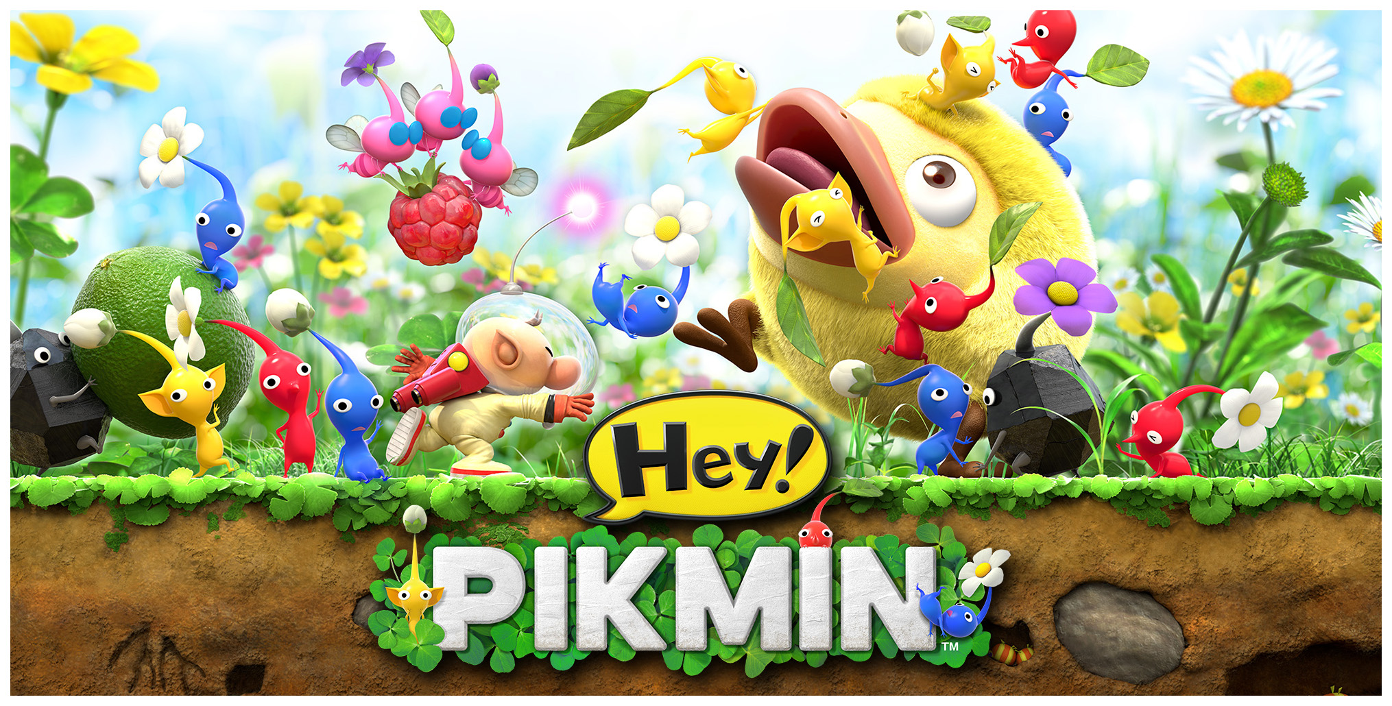 Игра Hey! PIKMIN для Nintendo 3DS