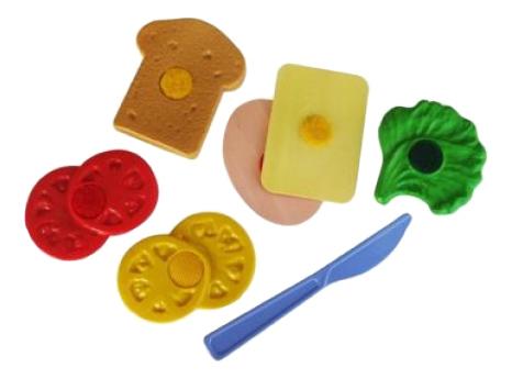 Набор продуктов игрушечный Плэйдорадо Бутерброд.