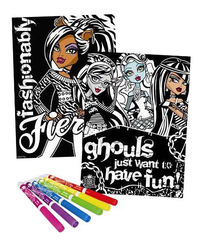 Купить Страшно красивые, Набор для рисования Fashion Angels Monster High Страшно красивые,