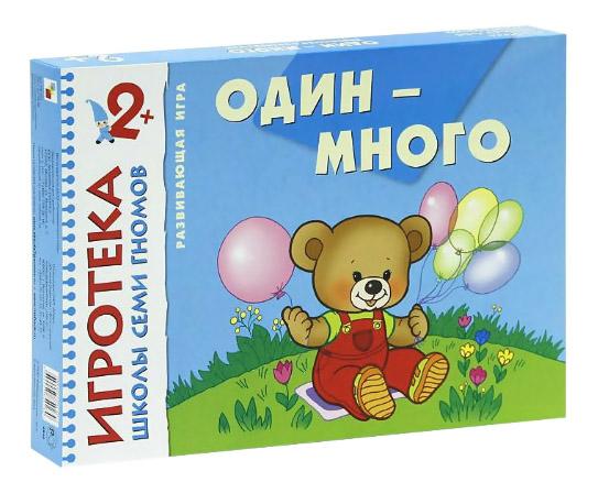 Купить Один-много, Книжка Школа Семи Гномов Один-Много, Мозаика-Синтез, Книги по обучению и развитию детей