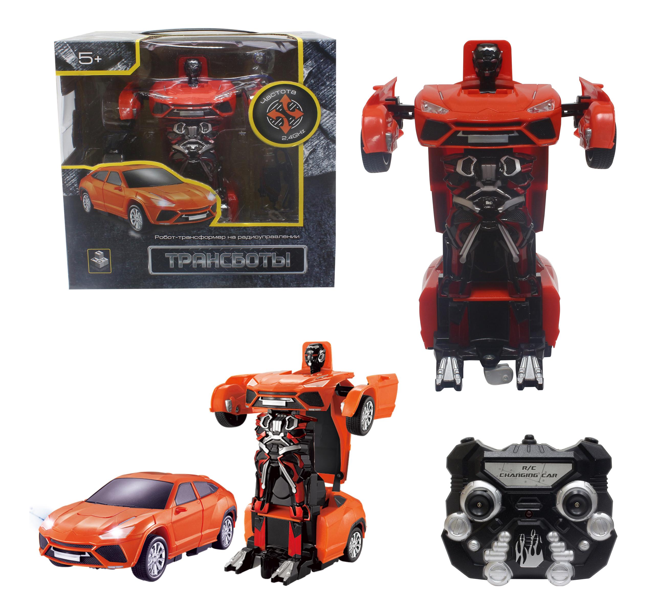 Купить Радиоуправляемый робот 1TOY Трансбот красный, 1 TOY, Радиоуправляемые роботы