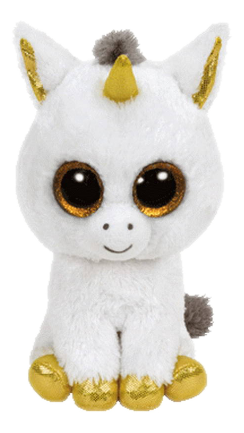 Мягкая игрушка TY Единорог Pegasus Beanie Boos 33 см