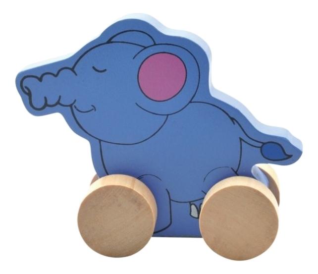 Купить Каталка детская Мир Деревянных Игрушек Слон, Игрушечные машинки