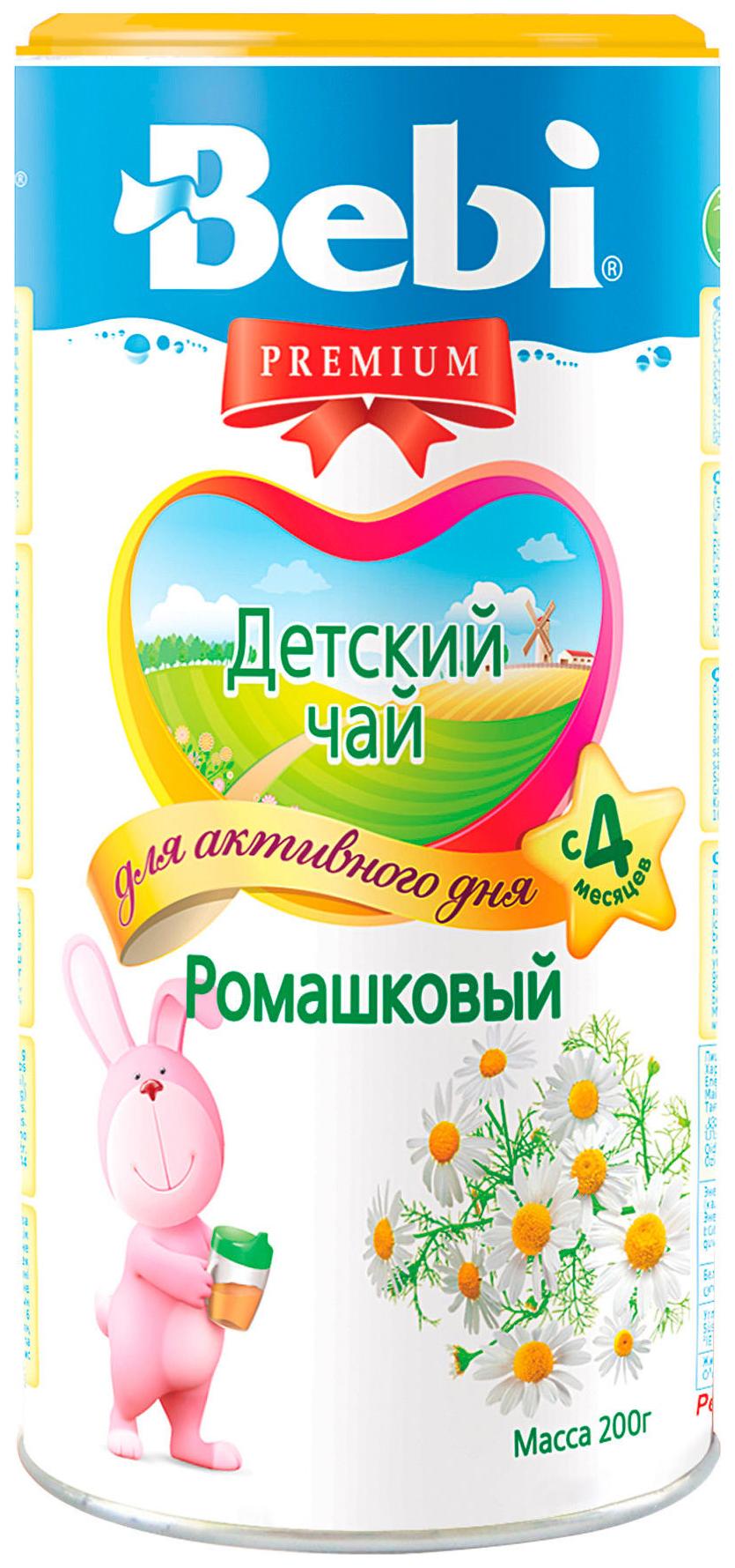 Чай Bebi Premium Ромашковый с 6