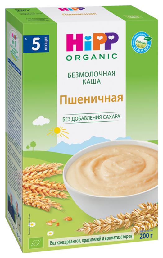 Купить Каша безмолочная HiPP Пшеничная с 5 мес. 200 г,