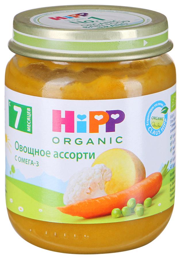 Пюре овощное HiPP Овощное ассорти с