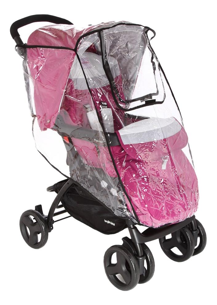 Дождевик на детскую коляску Карапуз С окошком