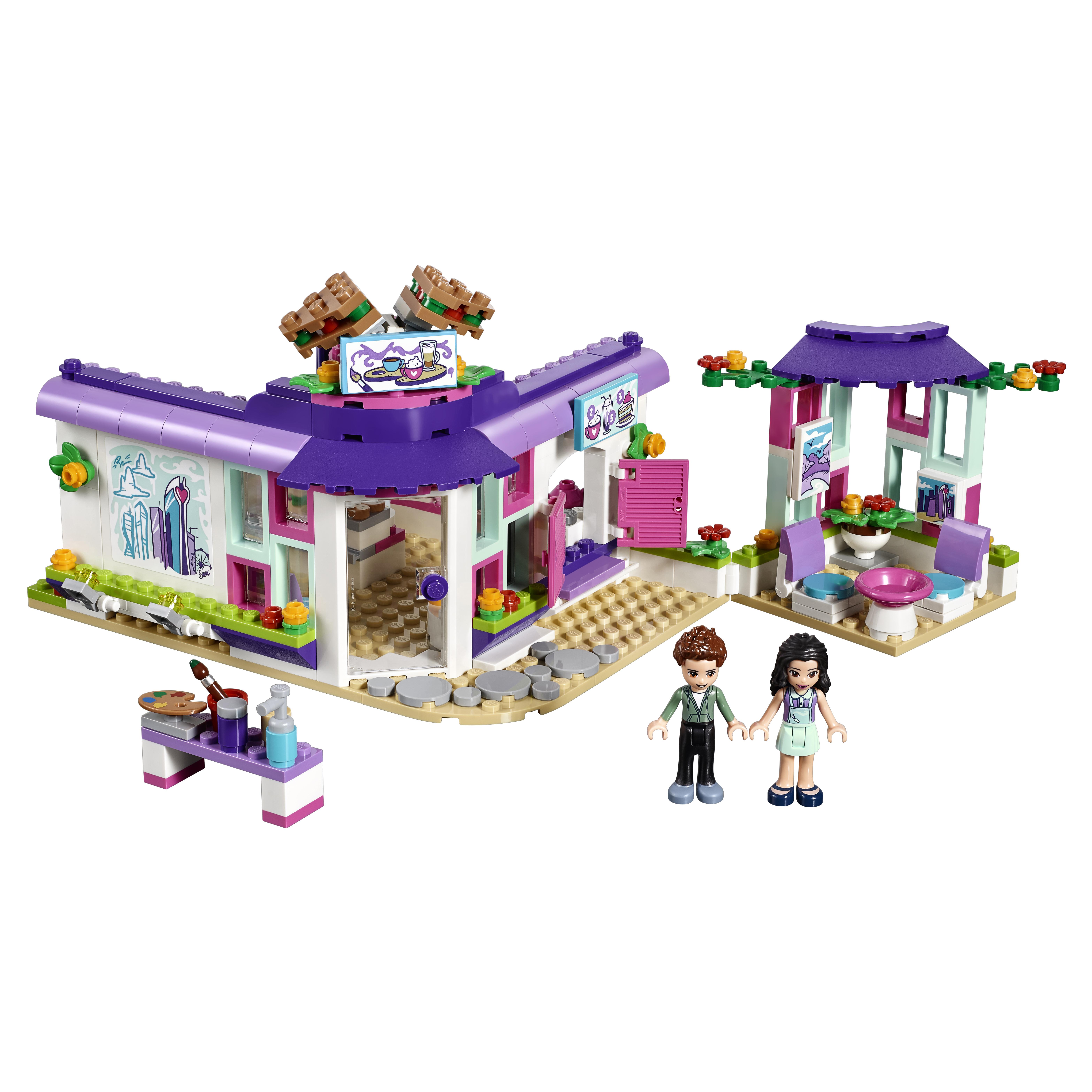 Купить Конструктор lego friends арт-кафе эммы (41336), Конструктор LEGO Friends Арт-кафе Эммы (41336)