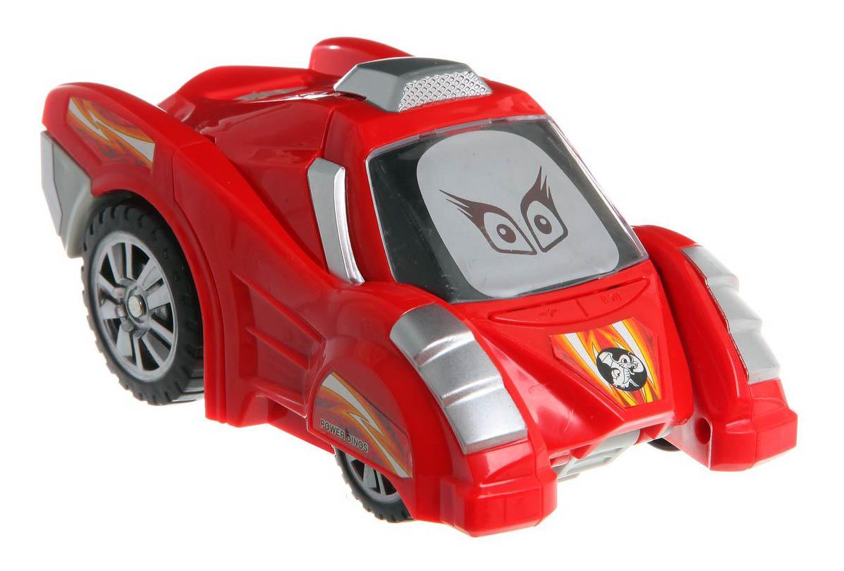Машина-трансформер Super Dinos красная Gratwest Б51055
