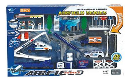 Игровой набор Автомир Аэродром 8 Рыжий кот и-4689 фото