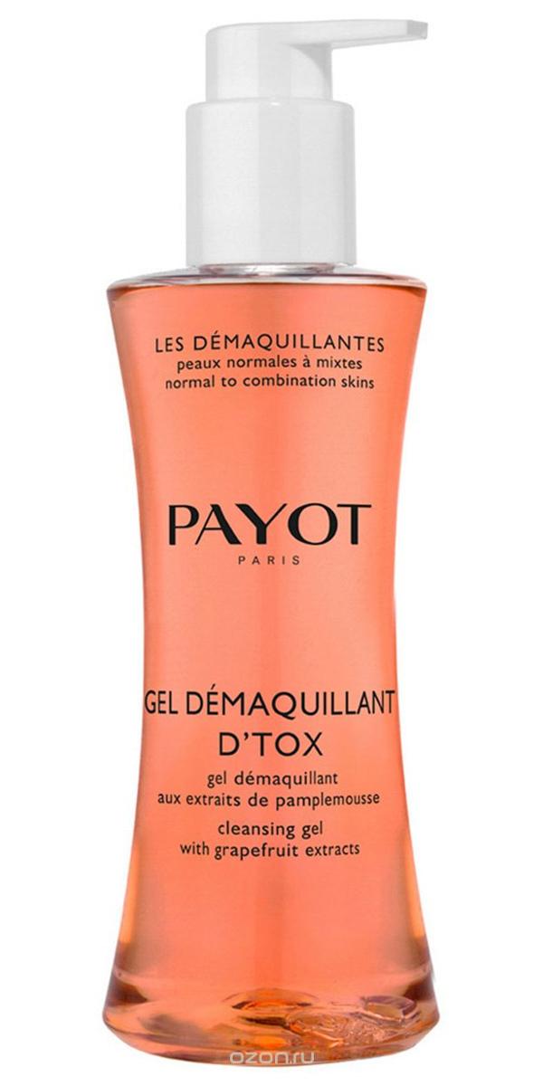 Очищающий гель-детокс Payot Gel Démaquillant D'Tox, 200мл фото